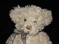 RUSS CREAM BENET BEAR SOFT TOY BEIGE TEDDY COMFORTER DOUDOU