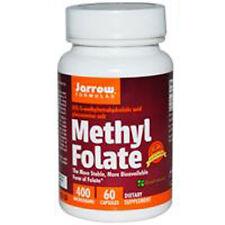 Methyl Folate, 400mcg x 60Caps, Heart, Energy, Headaches, Mood, Jarrow Formulas
