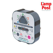 Kewtech LOOPCHECK107 Mains Socket Tester with Loop, Mains Polarity & RCD Test