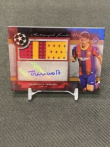 2021 Topps Museum Collection Francisco Trincao RPA /25 RC FC Barcelona PatchAuto