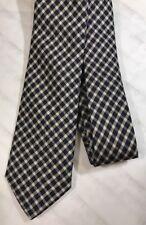 Paul Smith Krawatte 6cm RRP £ 80 Made in Italy Seide 100% Original geprüft navy