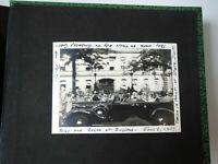 Album 1930s Photos AL Friends Travel Car British Royal Visit Washington DC