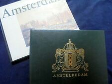 "AMSTERDAM: ""THEN AND NOW""~OLD PRINTS~1960'S PHOTOGRAPHY~LUXE EDITION IN SLIPCASE"