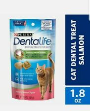 Purina Dentalife Made In Usa Facilities Cat Dental Treats, Savory Salmon Flavor