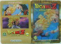 """Dragon Ball Z  """"Fusion"""" Giochi Preziosi serie GOLD n° 33 lenticolare"""