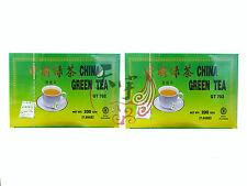 2 x China Green 100 Tea Bags 200G Great Chinese Green Tea Time At Work Break