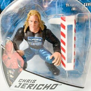 WWF Slammers CHRIS JERICHO Miniature Wrestling Figure Jakks Pacific AEW WWE WCW