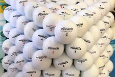 10 Dozen Pinnacle Mix Used Recycled Golf Balls Mint AAAAA + FREE TEES