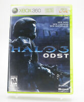Halo 3 ODST Xbox 360 Game W/Manual Tested Free Shipping