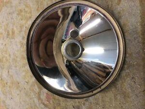 "MG TD 7"" Headlamp Reflector- Re silvered"