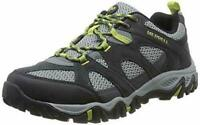MENS MERRELL LEATHER ROCKBIT HIKING TRAIL LACE-UP CASUAL TRAINERS SHOES UK 6-10