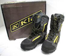 KLIM Adrenaline GTX Gortex Men's Snowmobile Boot Gray Size 6 3008-006-000 NEW