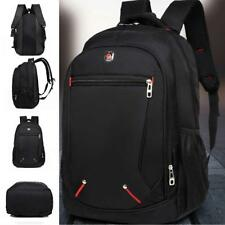 36-55L Men's Laptop Backpack Business Rucksack Bag Waterproof Travel School Bag