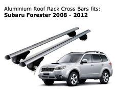 Aluminium Roof Rack Cross Bars fits Subaru Forester 2008-2012