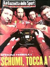 Gazzetta dello Sport Magazine 10 1998 Storia della Ferrari Formula 1