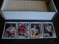 1990-91 Upper Deck Hockey---Complete Set---1-550---Jagr RC, Bure RC---NrMt