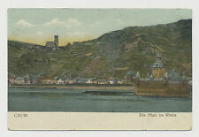 Die Pfalz  im Rhein  bei Kaub  (E541)