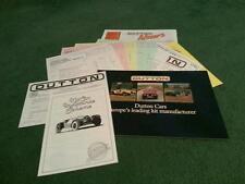 1984 DUTTON Phaeton S3 Rico Sierra Melos 2+ MULTI PART UK KIT CAR BROCHURE