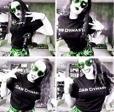 Dab Dynasty medical marijuana weed pot T-shirt RX legalize BHO 710 420