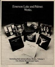 "1977 Emerson, Lake & Palmer""Works"" Album Promo Ad"