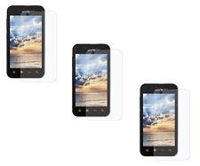 3 Clear Custom Pre Cut Screen Protector for LG Optimus Black P970 Marquee LS855