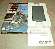 CASIO Digital Diary Black 32kb SF-4400X SF4400X Box Manual 11