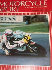 Motorcycle Sport 10/81 Great Pre-65 Trials Bikes-Royal Enfield,Suzuki GSX250 etc
