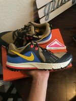 Nike Air Zoom Wildhorse 5 Trail Running Shoes AQ2222-200 Hiking Tree Gold SZ 9