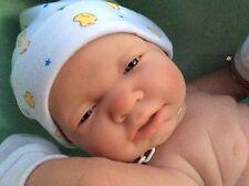 Magnifique Poupon bébé réaliste reborn BOUTIQUE BERENGUER 40 cm fille collector
