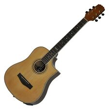 New Martinez Buskers Acoustic-Electric Babe Travel Guitar with Drum Machine