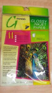 A4 GLOSSY INKJET PAPER 20 SHEETS