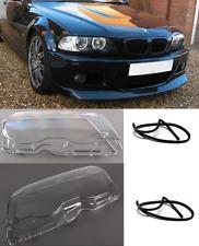 BARRE di protezione Set PARAURTI ANTERIORE DESTRO PER BMW 3-er e46 Coupe Cabrio Bj 03-06