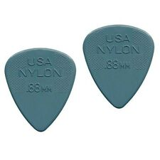 Dunlop 4410-R-88 Plettri per chitarra serie Nylon Standard 0.88mm 2 Pezzi