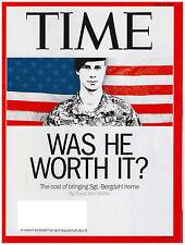 TIME Magazine June 16, 2014 Bergdahl, Hillary Clinton, Ronaldo World Cup, Coal
