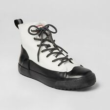 Hunter for Target Adult Dipped Canvas High Top Sneakers White 7.5 Men 9.5 Women