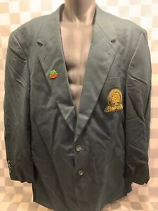 Lombardo Custom Jacket Charles E Polk Jr Comp USA Citrus Bowl Pins Made France