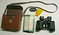 New listing Vintage SELSI Binoculars Coated Optics 8x30,with Case
