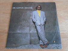 "Eric Clapton: Bad Love / Before You Accuse Me 7"" Single (Duck) 1989 EX/EX"