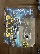 Disney Tron Legacy Deluxe Light Cycle Kevin Flynn 2010 Spin Masters Nib