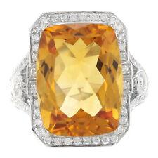 Ringe im Cocktail-Stil aus Gelbgold mit Diamanten