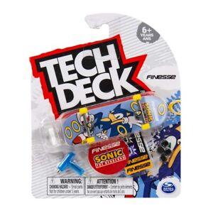 Tech Deck 2021 Fingerboard Pack - Finesse Sonic