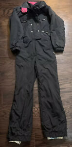 VIntage 90s Cherry Wing Neon Snow Suit Womens Size Large One Piece Ski Snowboard