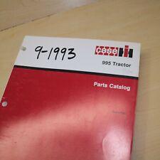 Case Ih International 995 Tractor Parts Manual Book Spare Catalog Farm 1993 List