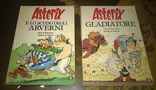 """Libri/Riviste""""ASTERIX E LO SCUDO DEGLI ARVERNI+GLADIATORE""""Goscinny/Mondadori"""