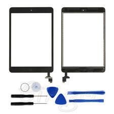 Für iPad Mini 1 2 Ersatzglas Display Touch Screen Scheibe IC Chip Schwarz neu