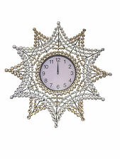 Clock Modern 69CM Diamond Clock Wall Clock Stylish Clock Decorative Clock 3213R