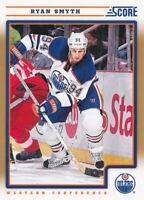 Ryan Smyth 2012-13 Score Gold Rush #198 Edmonton Oilers Hockey Card