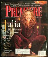 PREMIERE Magazine December 1993 JULIA ROBERTS / Emma Thompson / Oliver Stone