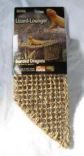 Reptology - Natural Lizard Lounger ( L) - Reptile Net Suit Bearded Dragon