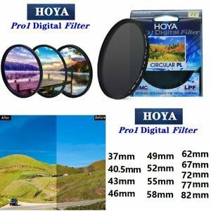 HOYA  37mm--82mm Pro CPL  Digital CIRCULAR Polarizer Lens Filter For SLR Camera